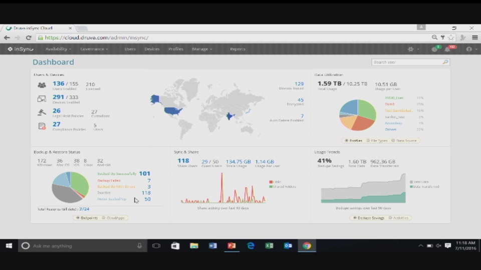 Staying Ahead of End-User Data Risks with Druva, Microsoft Azure and Office  365