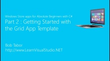 Part 2: Getting Started with the Grid App Template