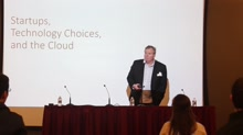 Startups, Technology Choices and the Cloud