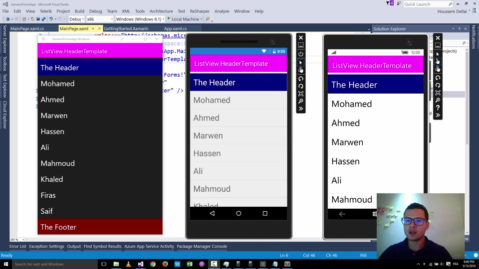 Using ContextActions with Xamarin Forms | MVP: Windows
