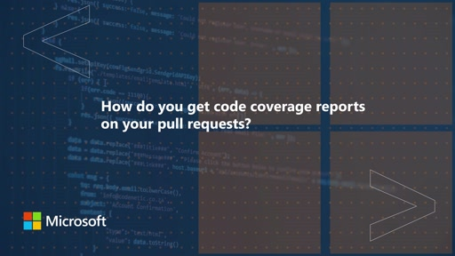 How do you get code coverage reports on your pull requests? | One Dev Question