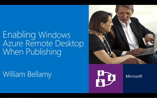 Enabling Microsoft Azure Remote Desktop When Publishing