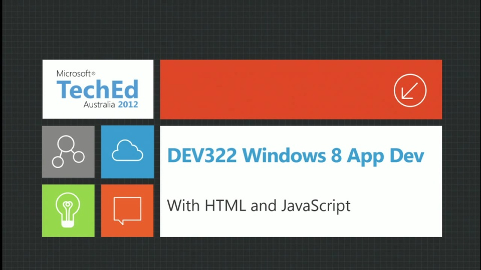 Windows 8 Application Development with HTML/Java Script