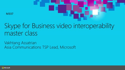 Skype for Business video interoperability master class