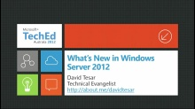 What's New in WS2012