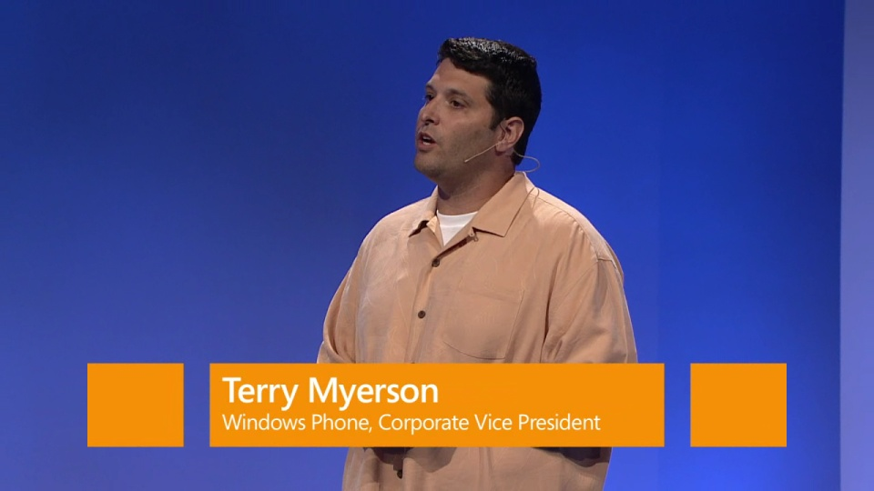 Hardware, Apps and closing remarks – Terry Myerson, Windows Phone 8