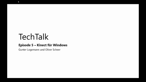 Episode 5 - Kinect für Windows