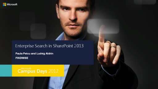 Enterprise Search i Sharepoint 2013