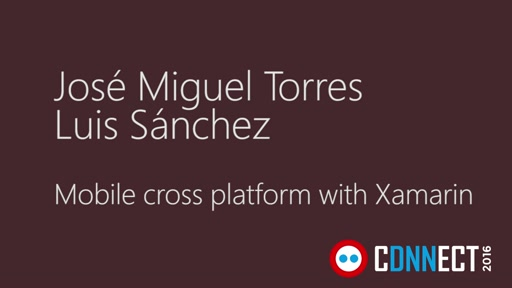 Mobile cross platform with Xamarin