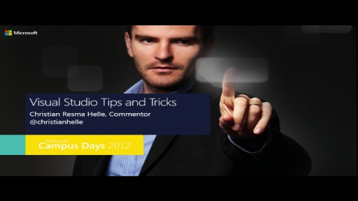 Visual Studio 2012: Tips & Tricks