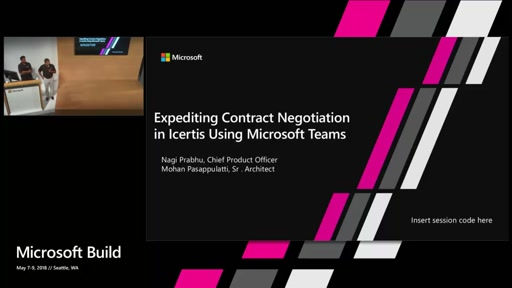 Expediting Contract Negotiation in Icertis Using Microsoft Teams