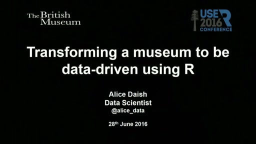 Transforming a museum to be data-driven using R