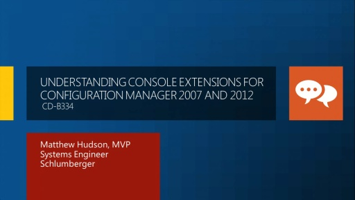 Understanding Console Extension for Configuration Manager 2007 and 2012