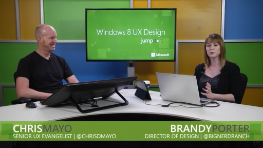 Windows 8 UX Design: (11) Accessibility