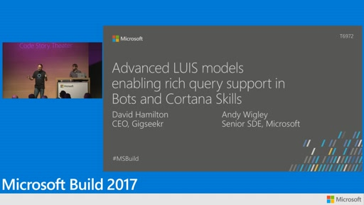 Advanced LUIS models enabling rich query support in bots and Cortana skills