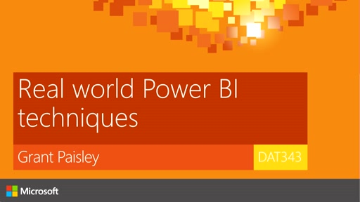 Real world Power BI techniques
