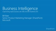 Module 3.2: Business Intelligence in a SharePoint hybrid environment