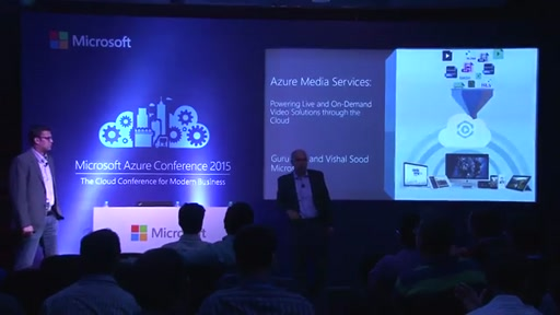 Day 2 :  App Track Meeting Room2 - Stream video using the cloud scale of Azure Media Services
