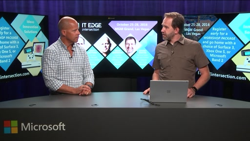 Brad Anderson's ITEdge intersection & DEV intersection Fall CountDown Show #2 with Scott Hanselman (Teaser)