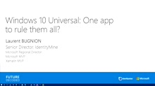 Windows 10 - The Universal Application: One App To Rule Them All?