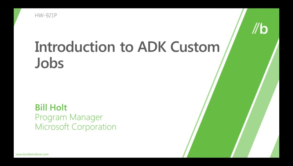 Introduction to ADK custom jobs