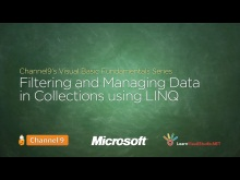 Filtering and Managing Data in Collections using LINQ - 22