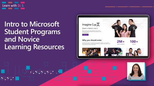 Intro to Microsoft Student Programs and Novice Learning Resources