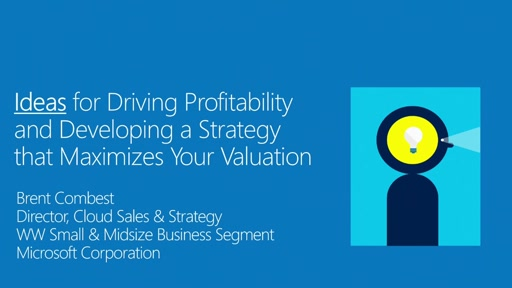MPN Training Cloud Profitability Webcasts - Valuation