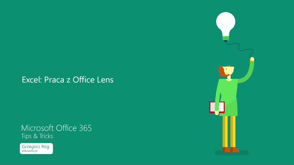 15 Excel – Praca z Office Lens