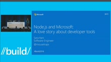 Node.js and Microsoft: A Love Story about Developer Tools