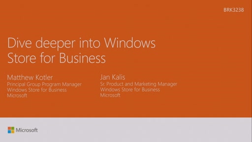 Dive deeper into Windows Store for Business