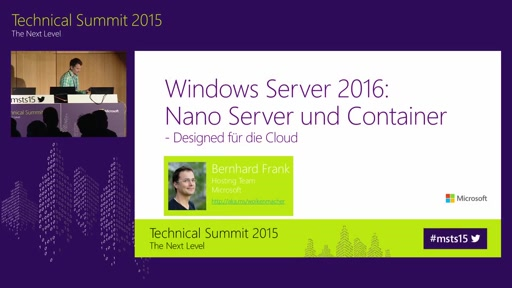 Windows Server 2016: Nano Server und Container - Designed für die Cloud