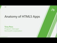 Anatomy of HTML5 sites and Metro style apps using HTML5