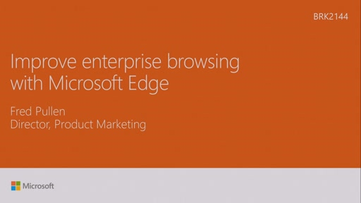 Improve enterprise browsing with Microsoft Edge