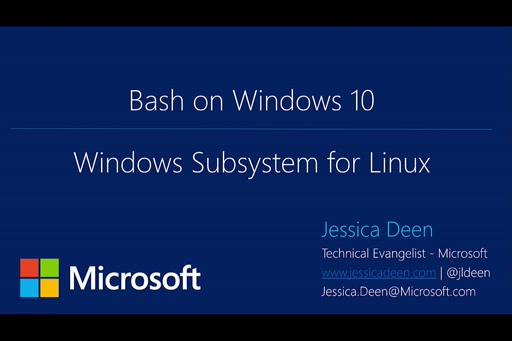 Getting Started with Bash on Windows 10 Anniversary Update