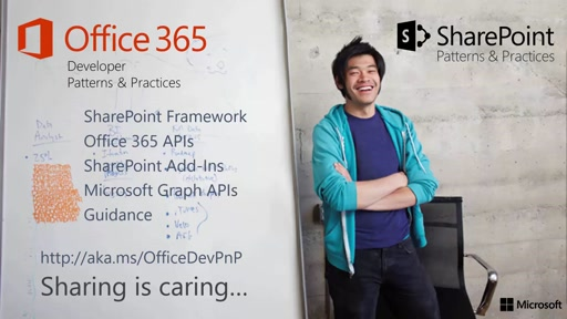 PnP Web Cast - Converting existing JS apps to SharePoint Framework