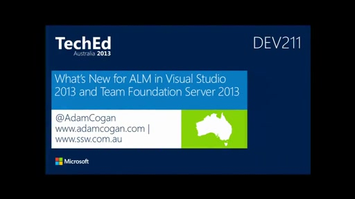 What's New for ALM in Visual Studio 2013 and Team Foundation Server 2013