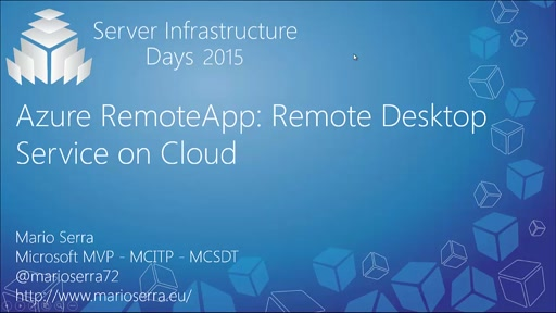 Azure RemoteApp: Remote Desktop Service on Cloud - MA03
