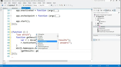 Microsoft DevRadio: Developing for Windows 8 in 1/2 the Time (Part 5) Adding Behaviors using JavaScript