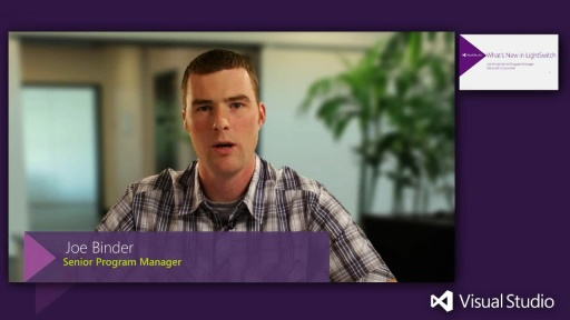 Building Business Applications with LightSwitch in Visual Studio 2012