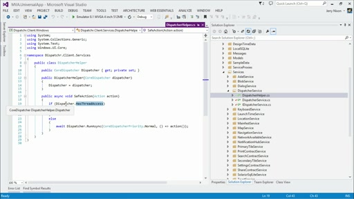 Developing Universal Windows Apps with C# and XAML: (11) View services