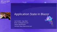 Application State in Blazor Apps