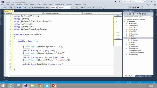 Developing Solutions with Azure DocumentDB: (07) Build a Web Application
