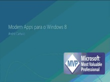Modern Apps para o Windows 8