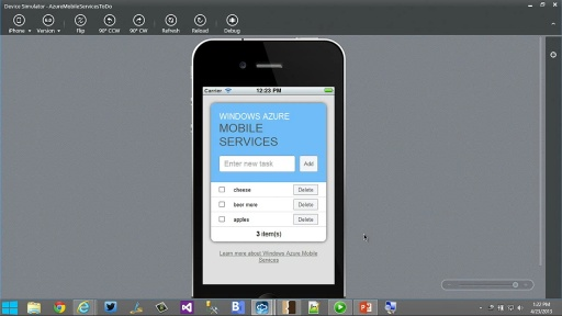 Developing Cross Platform Mobile Solutions with Azure Mobile Services