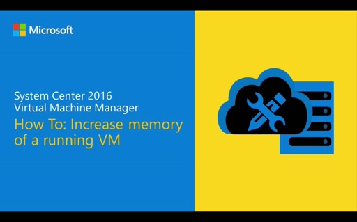 Demo: Increase memory of a running VM