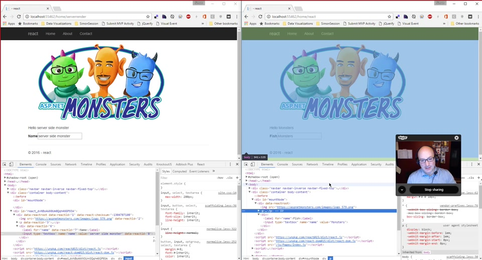 ASP.NET Monsters #94: React with Server Side Rendering
