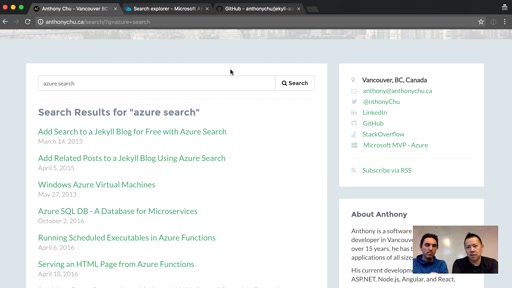 Getting Started with Azure Search