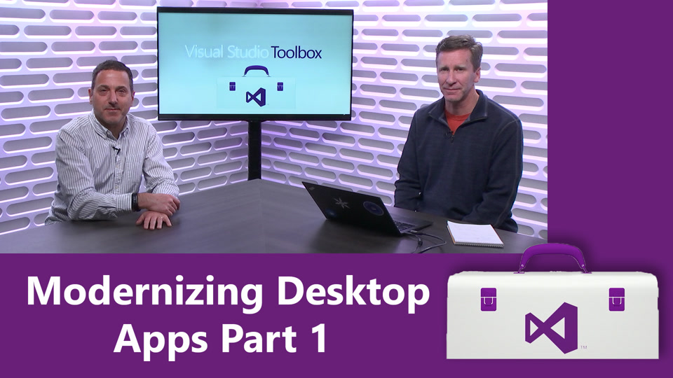 Modernizing Desktop Apps Part 1