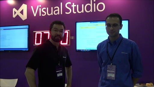 Bastidores do TechEd Brasil 2015 - Visual Studio no TechEd